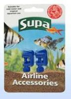 Supa Airline Clamps 2pk